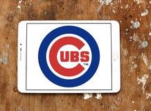 Logotipo del equipo de béisbol de los Chicago Cubs fotos de archivo libres de regalías