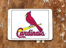 Logotipo del equipo de béisbol del St Louis Cardinals Imagen de archivo