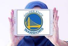 Logotipo del equipo de baloncesto de los guerreros del Golden State Fotografía de archivo