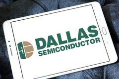 Logotipo del fabricante de Dallas Semiconductor imágenes de archivo libres de regalías