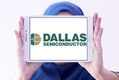 Logotipo del fabricante de Dallas Semiconductor fotos de archivo