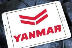Logotipo del fabricante del motor diesel de Yanmar Imagen de archivo libre de regalías