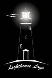 Logotipo del faro Imagenes de archivo