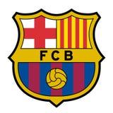 Logotipo del FC Barcelona ilustración del vector
