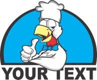 Logotipo del gallo imagen de archivo libre de regalías