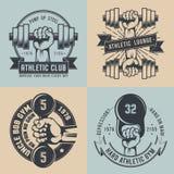 Logotipo del gimnasio Imagen de archivo