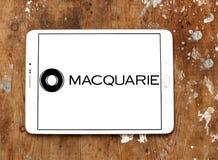 Logotipo del grupo de los servicios financieros de Macquarie Fotos de archivo