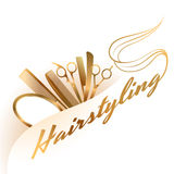 Logotipo del Hairstyling libre illustration