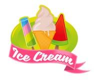 Logotipo del helado libre illustration