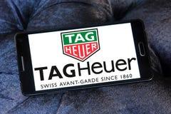 Logotipo del heuer de la etiqueta Imagen de archivo libre de regalías