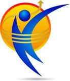 Logotipo del hombre Imágenes de archivo libres de regalías