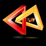 Logotipo del juego Imagen de archivo libre de regalías