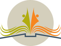 Logotipo del libro libre illustration
