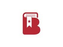 Logotipo del libro Imágenes de archivo libres de regalías
