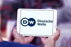 Logotipo del locutor de Deutsche Welle Imagen de archivo