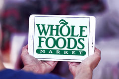 Logotipo del mercado de Whole Foods imagen de archivo libre de regalías