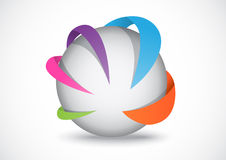 Logotipo del negocio Imágenes de archivo libres de regalías