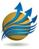 Logotipo del negocio stock de ilustración