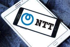 Logotipo del Ntt Fotografía de archivo