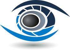 Logotipo del ojo Imagen de archivo libre de regalías