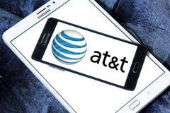 Logotipo del operador móvil del Att Imagen de archivo libre de regalías