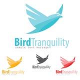 Logotipo del pájaro Fotos de archivo libres de regalías