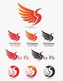 Logotipo del pájaro Imagen de archivo libre de regalías