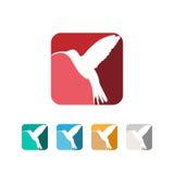 Logotipo del pájaro Fotos de archivo