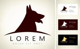 Logotipo del perro ilustración del vector