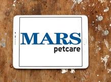 Logotipo del petcare de Marte Imagen de archivo