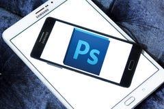 Logotipo del photoshop de Adobe foto de archivo libre de regalías