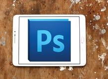 Logotipo del photoshop de Adobe imágenes de archivo libres de regalías