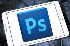 Logotipo del photoshop de Adobe fotos de archivo libres de regalías