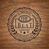 Logotipo del producto de alta calidad Foto de archivo libre de regalías