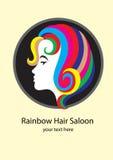 Logotipo del salón Foto de archivo libre de regalías