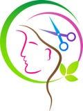 Logotipo del salón Imagen de archivo