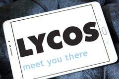 Logotipo del Search Engine del web de Lycos Imagen de archivo libre de regalías