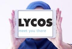Logotipo del Search Engine del web de Lycos Imagen de archivo
