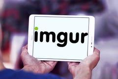 Logotipo del servicio de recibimiento de la imagen de Imgur Imagenes de archivo