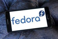 Logotipo del sistema operativo de Fedora imagen de archivo