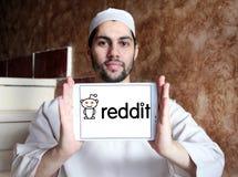 Logotipo del sitio web de Reddit Imagenes de archivo
