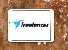 Logotipo del sitio web del mercado del Freelancer Foto de archivo libre de regalías