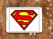 Logotipo del superhombre fotos de archivo