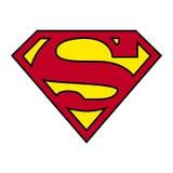 Logotipo del superhombre aislado - png ilustración del vector