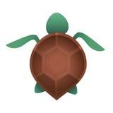 Logotipo del sur de la tortuga Foto de archivo libre de regalías