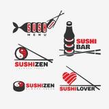 Logotipo del sushi Imagen de archivo libre de regalías