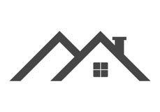 Logotipo del tejado para el diseño Foto de archivo libre de regalías