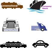 Logotipo del transporte Fotos de archivo libres de regalías