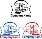 Logotipo del transporte Imagenes de archivo