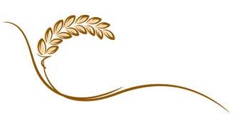 Logotipo del trigo libre illustration